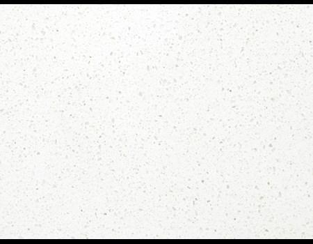 3CM WHITE LINEN QUARTZ HALF SLAB