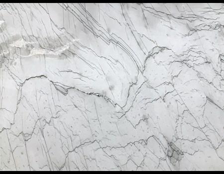 3CM SUPER WHITE CALACATTA QUARTZITE