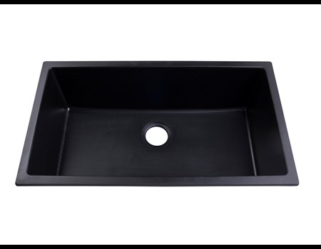 BOMA SINGLE BOWL COMPOSITE BLACK