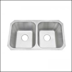 amerisink as101 undermount ss kitchen sink 31 x 18 x 18 gauge - Granite Composite Sinks