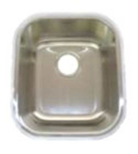 AMERISINK AS109 S.S. UNDERMOUNT BAR SINK 13 X 13 X 6 - 22 Gauge