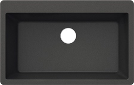 PELICAN PL-100 COMPOSITE SINK-ONYX-SINGLE BOWL