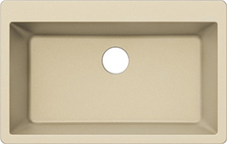 PELICAN PL-100 COMPOSITE SINK-BEIGE-SINGLE BOWL