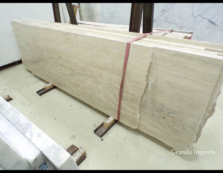 3CM ROMAN TRAVERTINE HALF SLAB