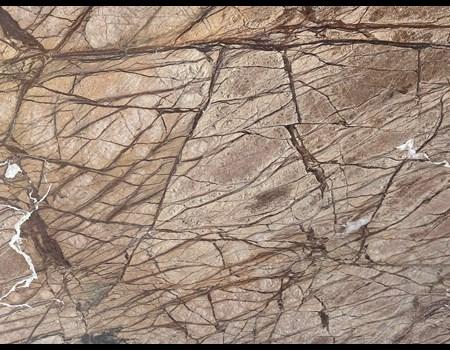 3CM RAINFOREST BROWN Leathered HALF SLAB